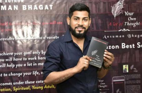 Young author Ansuman Bhagat of Jamshedpur bags the title of 'OMG Book of Records'